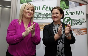 Sinn Féin  to be led by women on both sides of the border