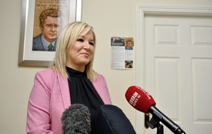 Michelle O'Neill declares herself for Sinn Féin vice president