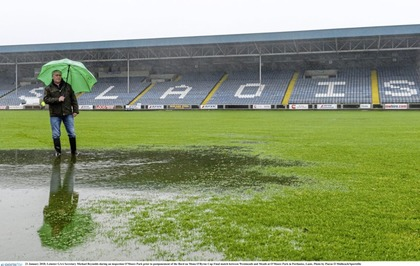 Moy manager Gavin McGilly is left frustrated by Portlaoise postponement