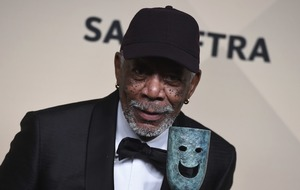 Morgan Freeman takes 'place in history' with SAG life achievement award