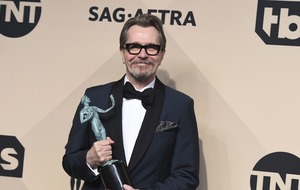 Oldman wins at SAGs where 'silence breakers' are celebrated