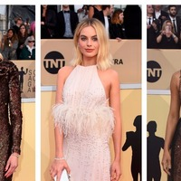 Stars shimmer in sequins and colour on SAGs red carpet