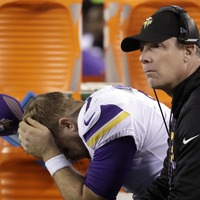 The utter anguish of the Vikings' loss to the Eagles as seen through one police department