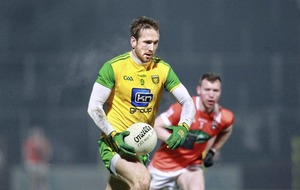 Nathan Mullins.honoured to wear the green and gold of Donegal