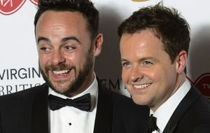 All eyes on Ant and Dec at the National Television Awards