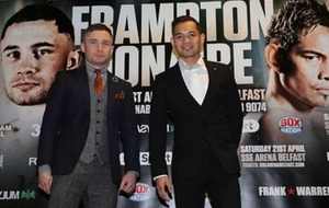 Dublin coach Paschal Collins wary of hometown decision culture ahead of Carl Frampton verus Nonito Donaire rumble