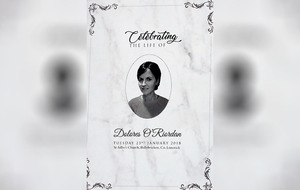 Dolores O'Riordan had a 'kind, loving and generous heart', mourners are told