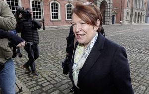 Former Garda chief used as a political football, she tells tribunal