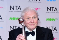 Sir David Attenborough vows to continue working as Blue Planet II collects award