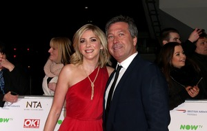 Lisa Faulkner and John Torode tell how late taxi made them miss the NTAs