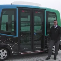 This autonomous bus needed winter weather testing so it went to Minnesota
