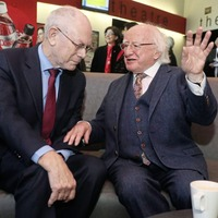 Europe must not face future divided says Michael D Higgins