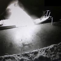 Balaclava-clad men torch £60,000 Lough Neagh patrol boat