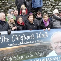 Martin McGuinness charity walk to aid research