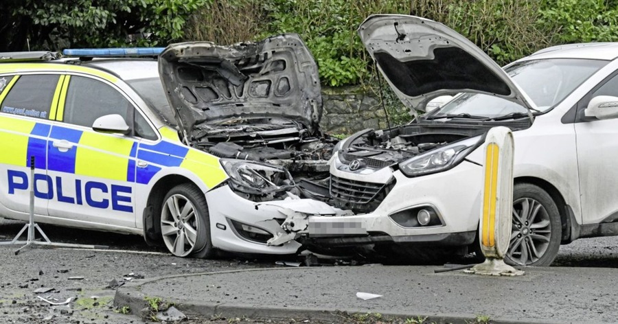 Car Crash Belfast Today