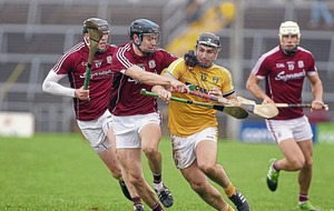 Antrim hurlers push All-Ireland champs Galway all the way