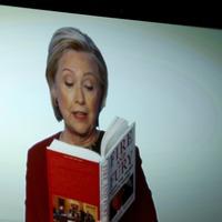 Backlash as Hillary Clinton takes aim at Trump in Grammy sketch