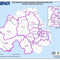 Proposals to shake up parliamentary boundaries submitted to British government