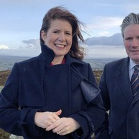 Shadow Brexit secretary Sir Keir Starmer visits Derry and Donegal border area