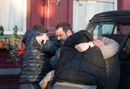 New EastEnders images show Mick being bundled into a van