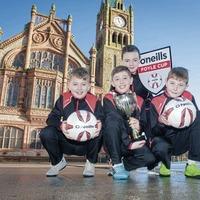 O'Neills kicks off sponsorship of the Foyle Cup