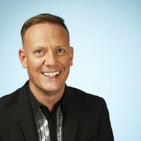 Antony Cotton returns to the ice after fall