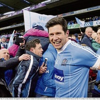 Sean Cavanagh salutes the Moy's emotional All-Ireland success