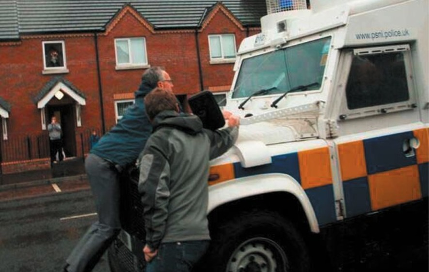 Sinn Fein policing spokesman seeks legal advice after removing clamp from vehicle