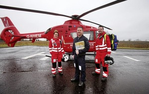 200 missions and counting for north's new air ambulance service