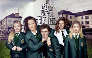 Derry Girls tackle The Crystal Maze in celebrity special