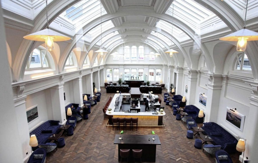 Eating Out The Drawing Room Titanic Hotel Belfast The