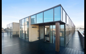 Property: Belfast penthouse apartment with views towards Cave Hill, Stormont, Harland and Wolff