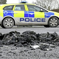Arson attack on delivery driver was attempted murder, police say