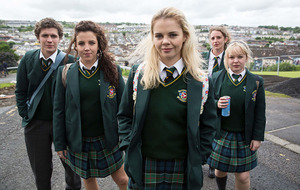 Derry Girls star pays tribute to show's creator as first series ends