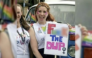 No prosecution over 'F*** the DUP' placard in Belfast