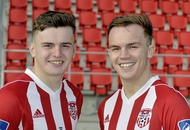 Derry City new boys Rory and Ronan Hale aiming for England return