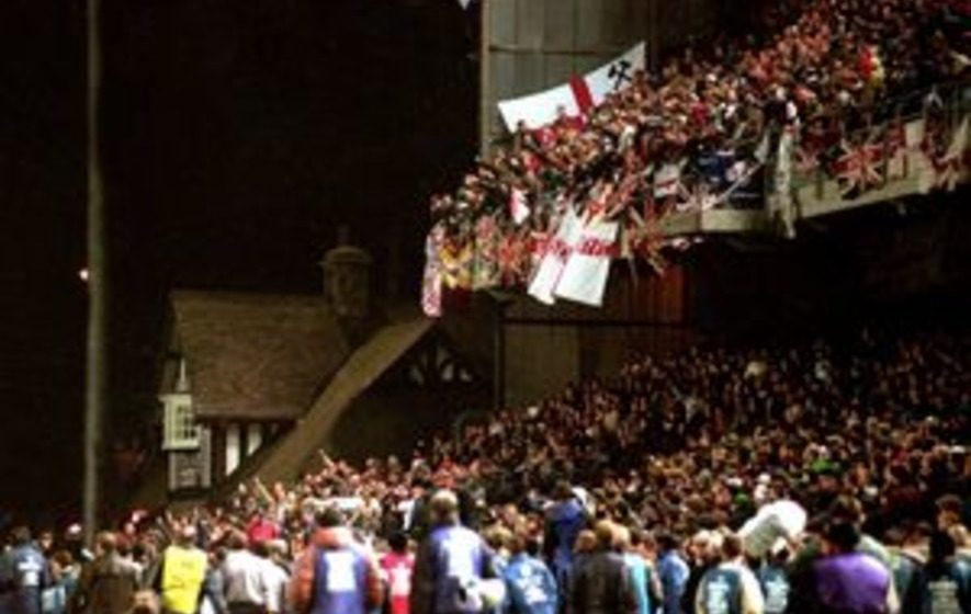 On This Day Feb 15 1995 Rioting England Fans Forced A