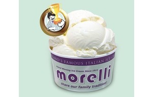 Morelli's vanilla ice cream named the best in the UK