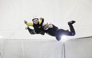 Key question about Belfast indoor skydiving centre: When can we go again, mum?