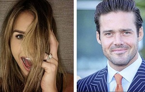 Sleb Safari: Vogue Williams and Spencer Matthews get engaged thanks to the greatest story ever told