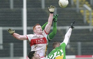 Derry fend of Offaly's second half comeback to claim first points of Division Three campaign