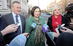 Jeffrey Donaldson: Sinn Féin's Mary Lou McDonald 'about to get a surprise' with direct rule