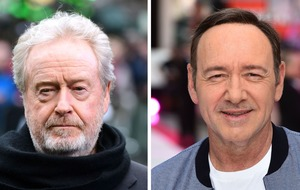 Sir Ridley Scott 'hasn't heard from Kevin Spacey'