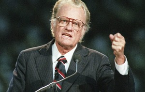 Evangelist Billy Graham, once branded an 'ally of Rome' by Paisley, dies