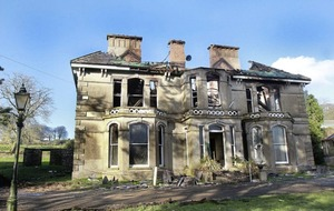 Historic Donegal country house gutted in fire