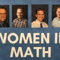 'Is this satire?': Women in maths poster goes viral for advertising four male speakers