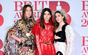 Este Haim says there is 'no beef' after jokingly upstaging Cheryl at the Brits