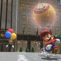 Super Mario Odyssey has been updated to add a new balloon-based mini-game