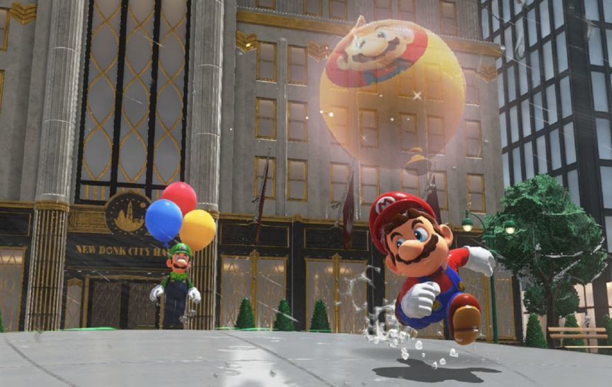 The free Super Mario Odyssey update is available now
