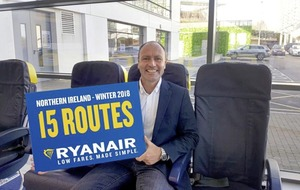APD removal would drive 'double digit growth' in NI says Ryanair